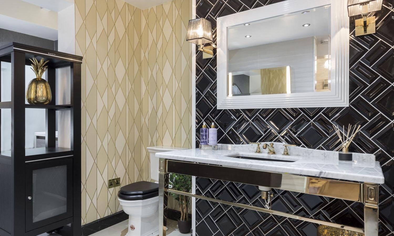 luxury bathroom showroom image